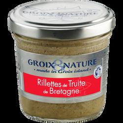 Rilllettes de truite de Bretagne GROIX & NATURE, 100g