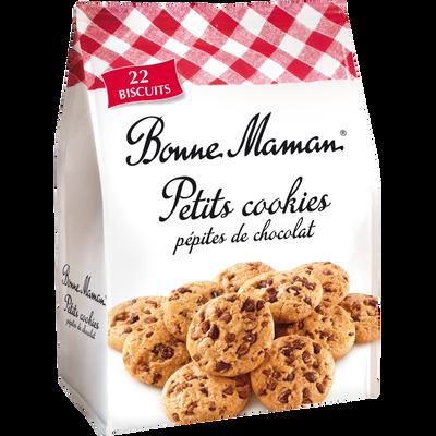 Petits cookies aux pépites de chocolat BONNE MAMAN, 250g