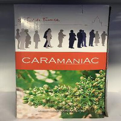 CARAMANIAC ROUGE BIB 10L