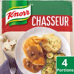 Sauce déshydratée Chasseur KNORR, 23g, 20cl