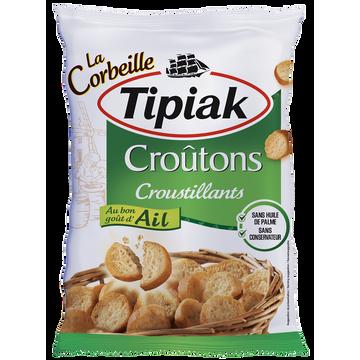 Tipiak Croûtons Croustillants Ail La Corbeille Tipiak, Sachet De 300g