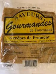 *CREPES FROMENT X6 SAVEURS GOUR