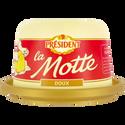 Président Beurre Doux , 82% De Mg, Motte De 250g