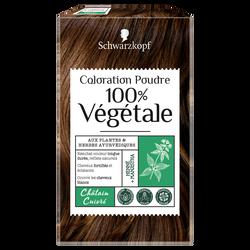 Coloration poudre 100% VEGETALE, clair cuivré