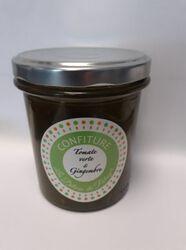 CONFIT TOMATE VERTE/GINGEMBRE les delices du potager