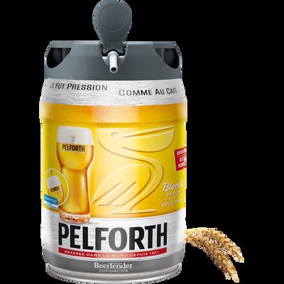 Bière blonde PELFORTH, 5,8°, fût pression de 5l