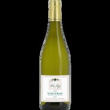 Vin blanc Vouvray sec Tendre  LES LYS, 12.5° bouteille de 75cl