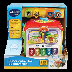 Vtech Baby - Super cube des découvertes - Dès 9 mois