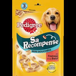 Sa récompense mini bouchées au b uf et au fromage pour chien PEDIGREE, 140g