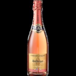 Crémant rosé AOP d'Alsace WOLFBERGER, 75cl