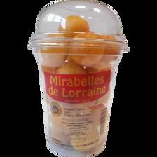 Prune Mirabelle, IGP de Lorraine, calibre +22, France, shaker 200g