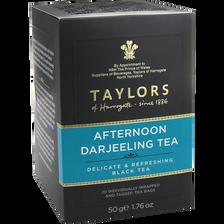 Thé afternoon darjeeling TAYLORS, 20 sachets de 50g