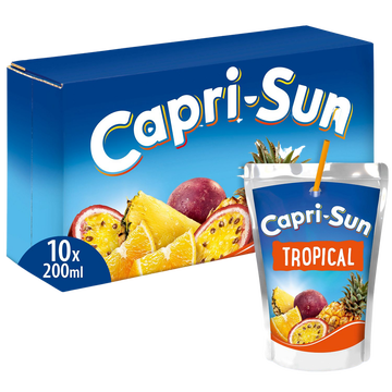 Capri-Sun Boisson Capri Sun Tropical - Pack Poches 10x20cl