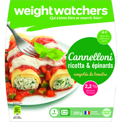 Cannelloni ricotta épinards WEIGHT WATCHERS,  290g
