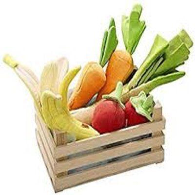 CAGETTE MIXTE FRUIT ET LEGUME(produits un peu abimés mais encore consommable,melange de fruits et de legumes divers)