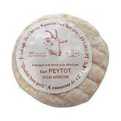 Fromage de chèvre fermier au lait cru PEYTOT, 19%MG, 60g