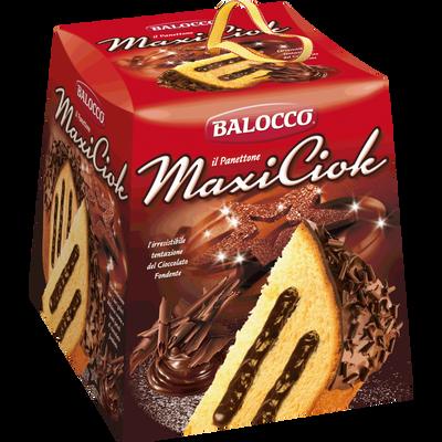 Panettone Maxiciok BALOCCO, 800g
