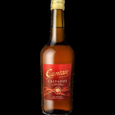 Calvados CANTATE, 40°, bouteille de 70cl