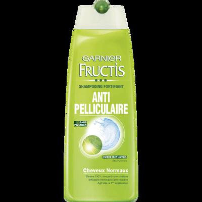 Shampooing vert antipelliculaire, FRUCTIS, flacon de 250ml