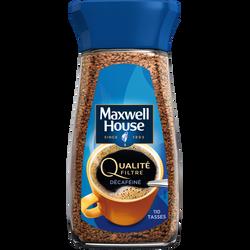 Café Soluble MAXWELL HOUSE Qualité Filtre Bocal 200g