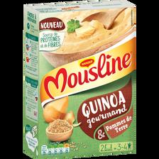 Quinoa gourmand et pomme de terre MOUSLINE, sachets 2x100g