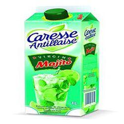boisson au jus de citron vert saveurs menthe citron vert,VIRGIN Mojito,CARESSE ANTILLAISE,1l