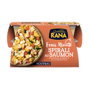 Giovanni Rana Riccioli Sauce Fromage Robiola Saumon Courgettes Rana, 350g
