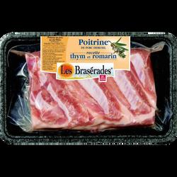 Poitrine de porc 1/2 sel, LES BRASERADES