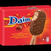 Daim Bâtonnets Daim, X4 Soit 284g
