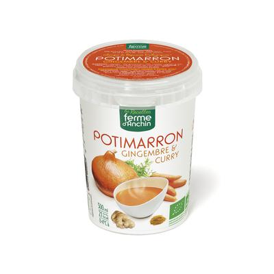 Cup potimarron gingembre curry, BIO, 500ml