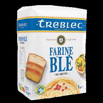 Tréblec Farine De Blé Treblec 1kg