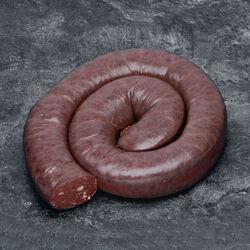 Boudin noir aux oignons brassé viande de porc français BRIENT