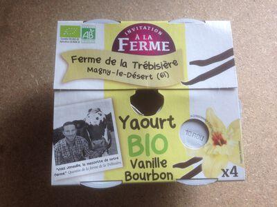 Yaourt à la vanille bourbon 4x125g