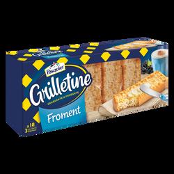 Grillettine au froment BRIOCHE PASQUIER, 242g