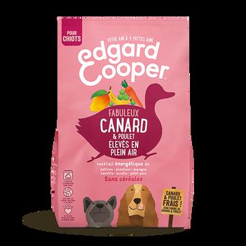 Canard Croquettes Naturelles Sans Céréales Chiot Canard Poulet Frais Edgard&cooper, 1kg
