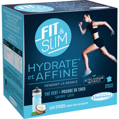 Préparation pour boisson fit and slim, hydrate et affine VITARMONYL