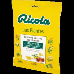Bonbons sans sucre aux plantes et à la stévia RICOLA, 70g