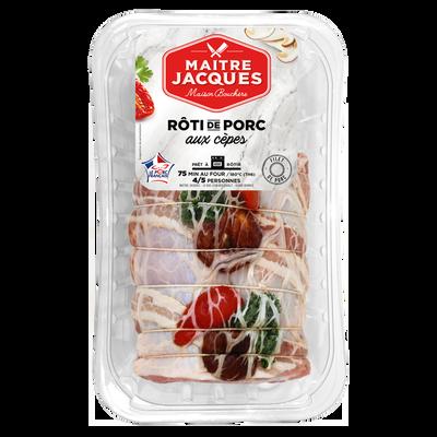 Rôti filet de porc aux cèpes, MAITRE JACQUES, 1 pièce