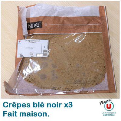 CRÈPES BLÉ NOIR  MAISON X3