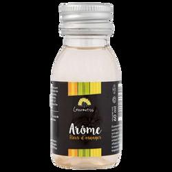 Arôme naturel de fleur d'oranger GOURMETISS, bouteille de 60ml