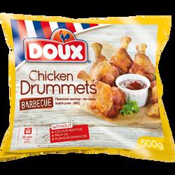 Manchons de poulet barbecue surgelés DOUX, 500g