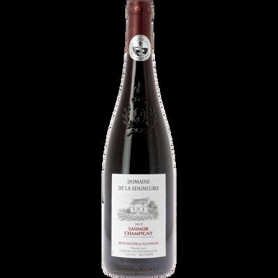 """Vin rouge Saumur Champigny AOP """"Domaine la Seigneurie"""", bouteille de 75 cl"""
