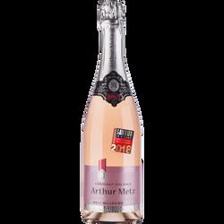 Vin Crémant d'Alsace brut rosé ARTHUR METZ, 75cl
