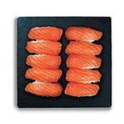 Plateau sushi saumon maxi (10 sushi saumon) 300g SUSHIMARKET
