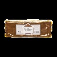 Pain d'épices pur miel 57% en tranches ALBERT MENES,300g