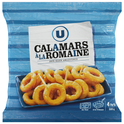 Calamars à la romaine U sachet 500g