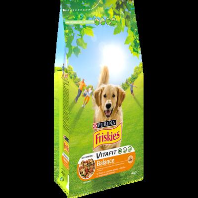Croquettes pour chien adulte au poulet et légumes Vitafit BalanceFRISKIES, 4kg