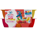 Lou Fromage Frais Au Lait Pasteurisé Sucré Aux Fruits U Mat & , 2% Demg, 12x50g