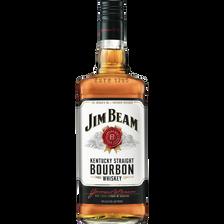 Jim Beam Whisky Bourbon  White, 40°, Bouteille De 1l