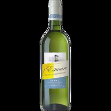 """Vin blanc de pays Charentais """"estuaire"""", 75cl"""
